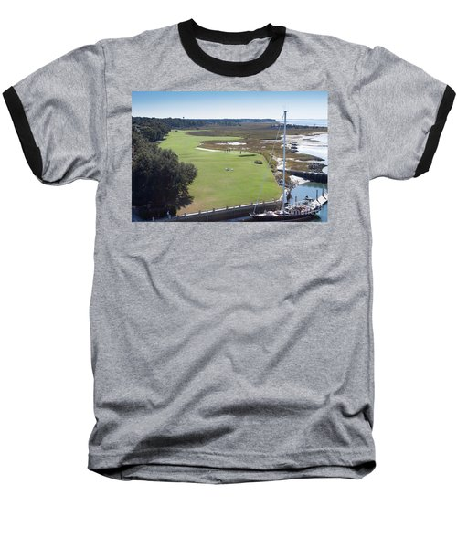 Harbourtown Golf Course 18th Hole Baseball T-Shirt