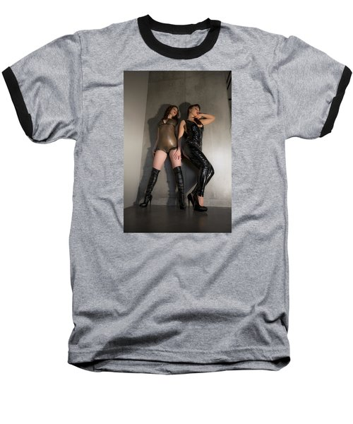 Baseball T-Shirt featuring the photograph Hard And Soft by Mez