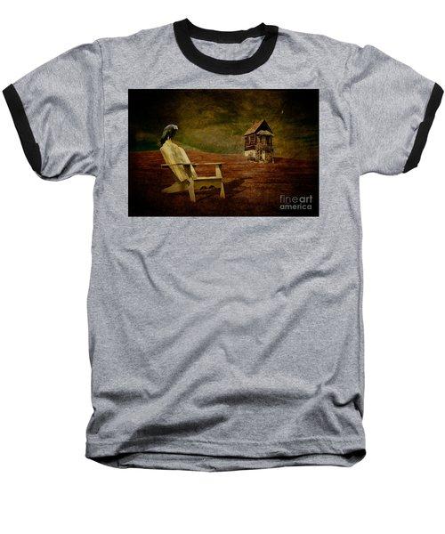 Hard Times Baseball T-Shirt by Lois Bryan