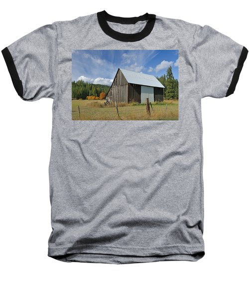 Hardy Creek Road Barn Baseball T-Shirt