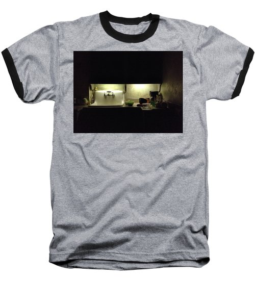 Harlem Sink Baseball T-Shirt by H James Hoff