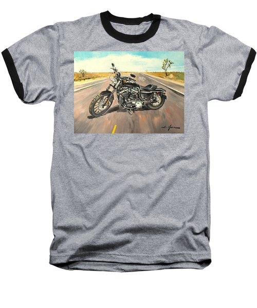 Harley Davidson 883 Sportster Baseball T-Shirt