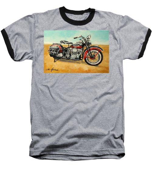 Harley Davidson Panhead Baseball T-Shirt