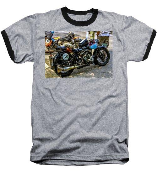 Harleys And Indians Baseball T-Shirt