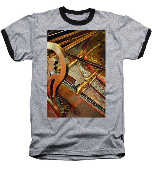 Harpsichord  Baseball T-Shirt