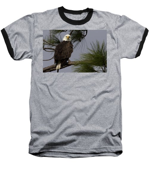 Harriet The Bald Eagle Baseball T-Shirt