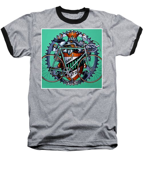 Harry Quinn Baseball T-Shirt by Mark Jones
