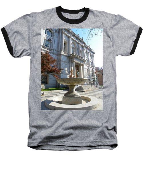 Hartford Historical Building Baseball T-Shirt