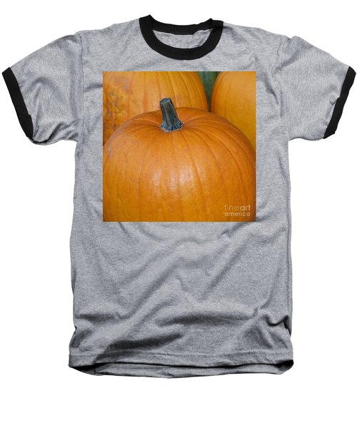 Baseball T-Shirt featuring the photograph Harvest Pumpkins by Chalet Roome-Rigdon