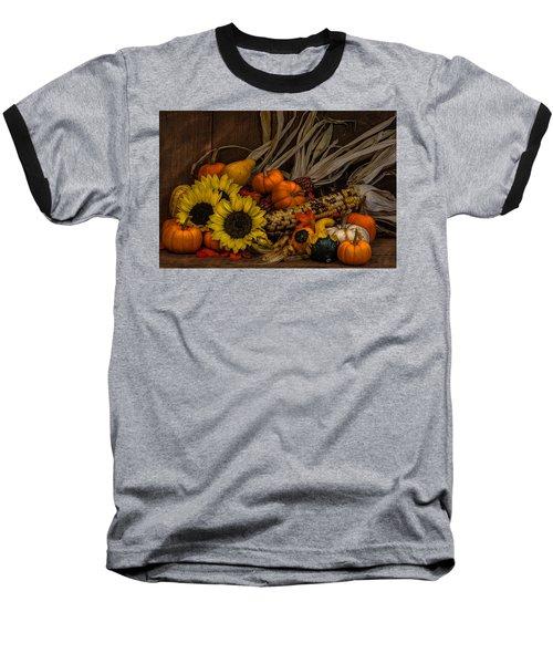 Harvest Season Baseball T-Shirt