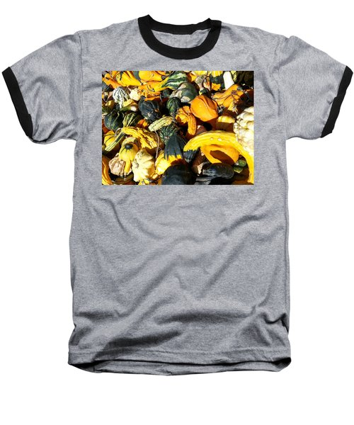 Harvest Squash Baseball T-Shirt