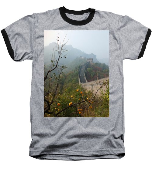 Harvest Time At The Great Wall Of China Baseball T-Shirt