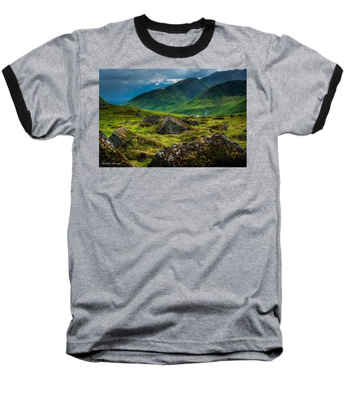 Hatcher's Pass  Baseball T-Shirt
