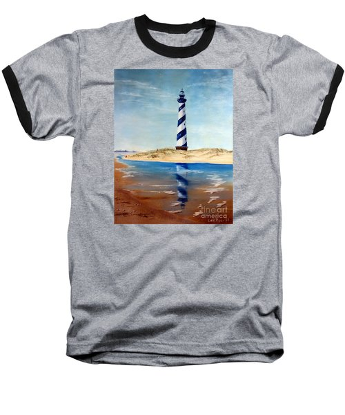 Hatteras Lighthouse Baseball T-Shirt