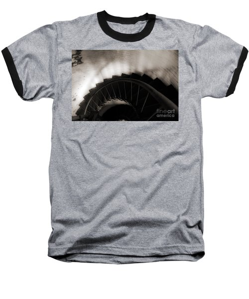 Baseball T-Shirt featuring the photograph Hatteras Staircase by Angela DeFrias