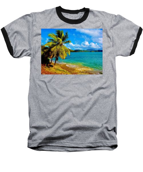 Haulover Bay Usvi Baseball T-Shirt