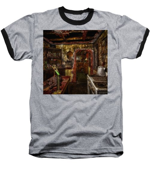 Haunted Kitchen Baseball T-Shirt