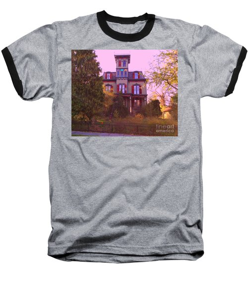 Baseball T-Shirt featuring the photograph Hauntingly Victorian 1 by Becky Lupe