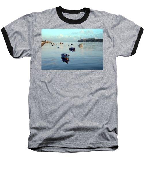 Havana Maritime 2 Baseball T-Shirt by Steven Richman