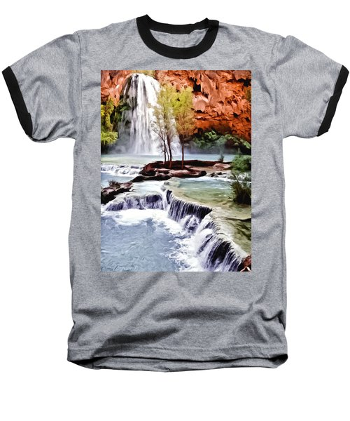 Havasau Falls Painting Baseball T-Shirt