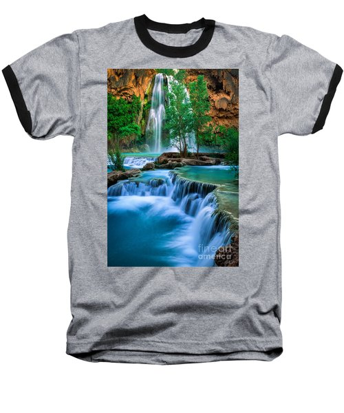 Havasu Paradise Baseball T-Shirt by Inge Johnsson