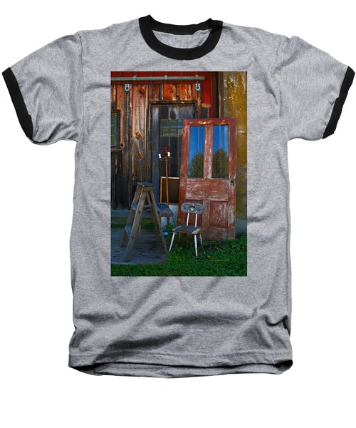 Have A Seat Baseball T-Shirt by Michael Porchik