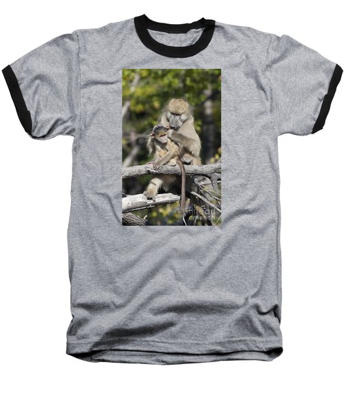 Baseball T-Shirt featuring the photograph Have You Cleaned Behind Your Ears by Liz Leyden
