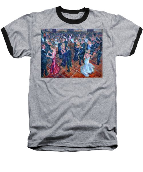 Having A Ball - Dancers Baseball T-Shirt