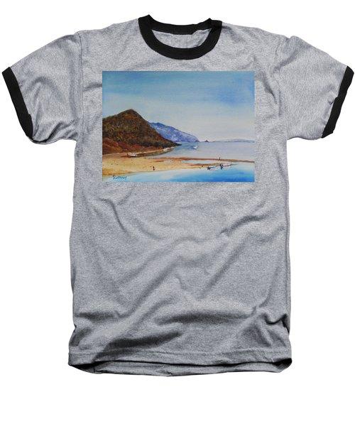 Hawaii Baseball T-Shirt by Christine Lathrop