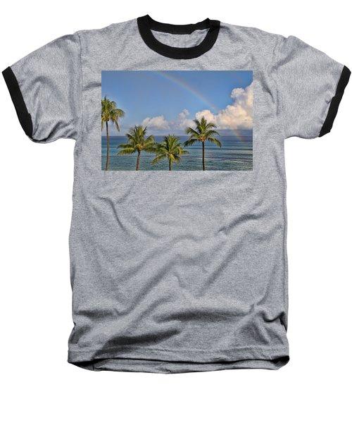 Hawaii Rainbow Baseball T-Shirt