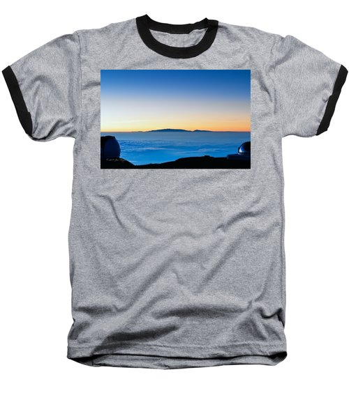 Baseball T-Shirt featuring the photograph Hawaii Sunset by Jim Thompson