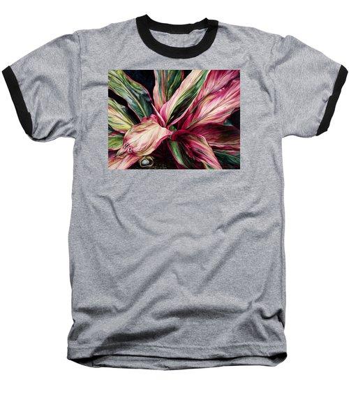 Hawaiian Prayer Baseball T-Shirt