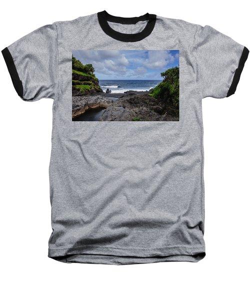 Hawaiian Surf Baseball T-Shirt