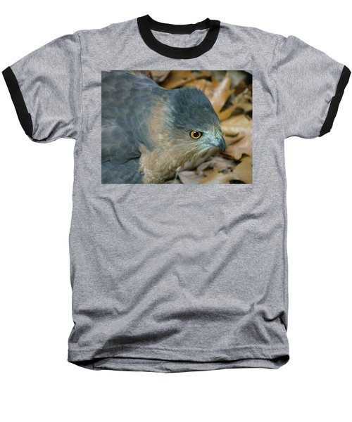 Hawk Eyes Up Close Baseball T-Shirt