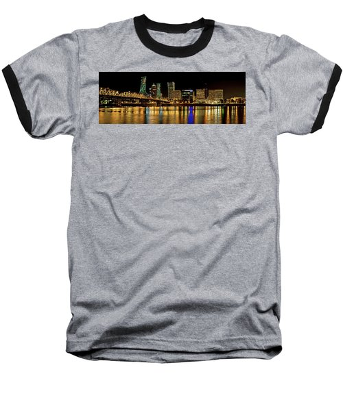 Hawthorne Bridge 2 Baseball T-Shirt