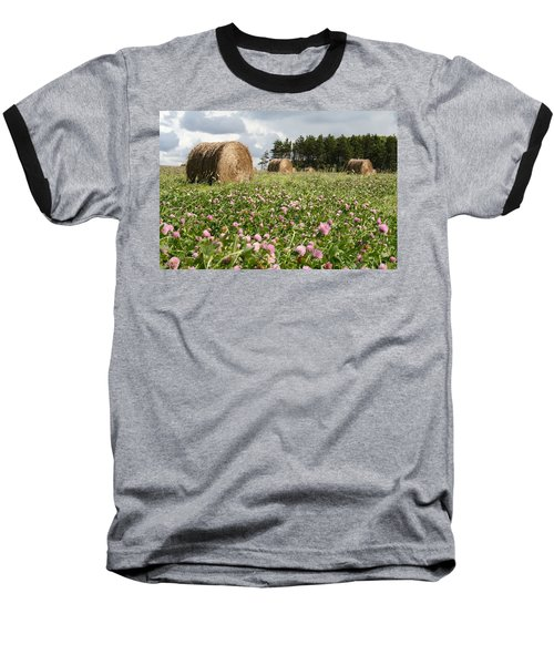 Hay Field Baseball T-Shirt