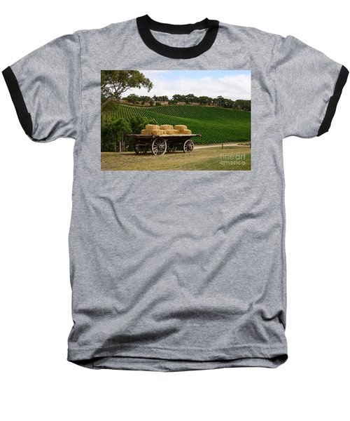 Hay Wagon Baseball T-Shirt