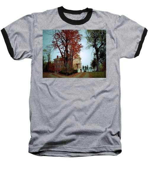 Hayesville Academy Vermillion Institute Baseball T-Shirt