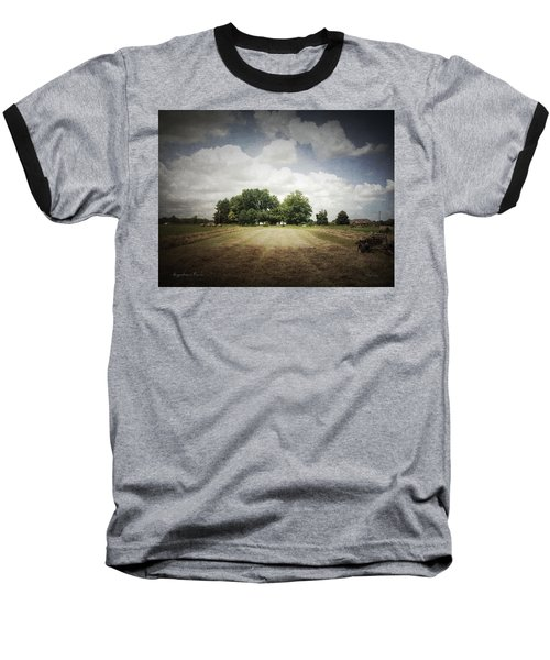 Haying At Angustown Baseball T-Shirt