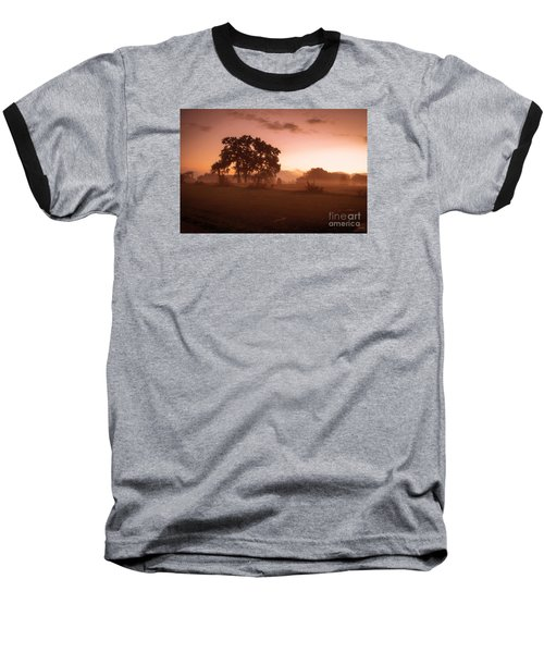 Hazy Morn Baseball T-Shirt