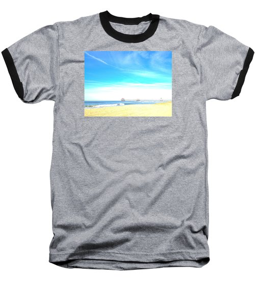 Hb Pier 7 Baseball T-Shirt by Margie Amberge