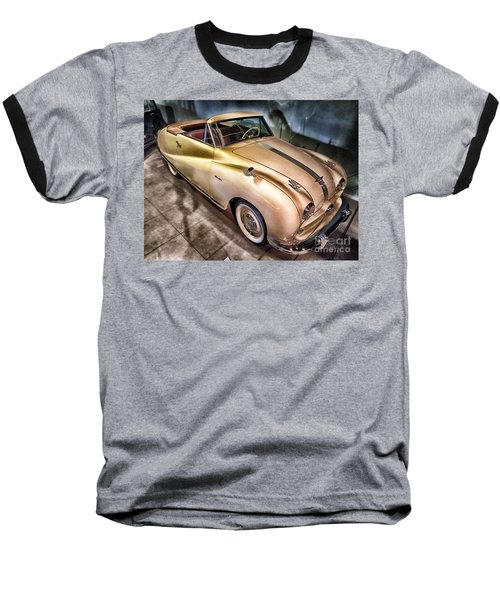 Baseball T-Shirt featuring the photograph Hdr Classic Car by Paul Fearn