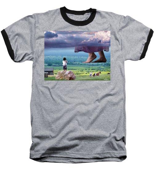 He Still Walks Here Baseball T-Shirt