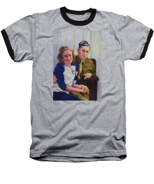 He Touched Me Baseball T-Shirt