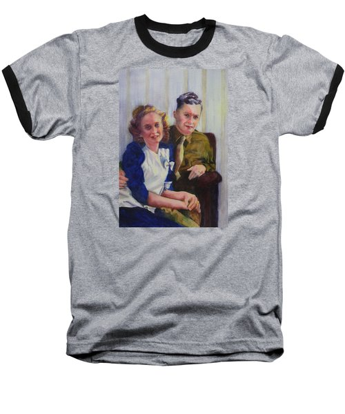 He Touched Me Baseball T-Shirt