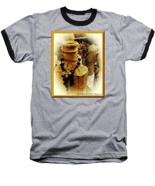 He Turned Water Into Wine Baseball T-Shirt