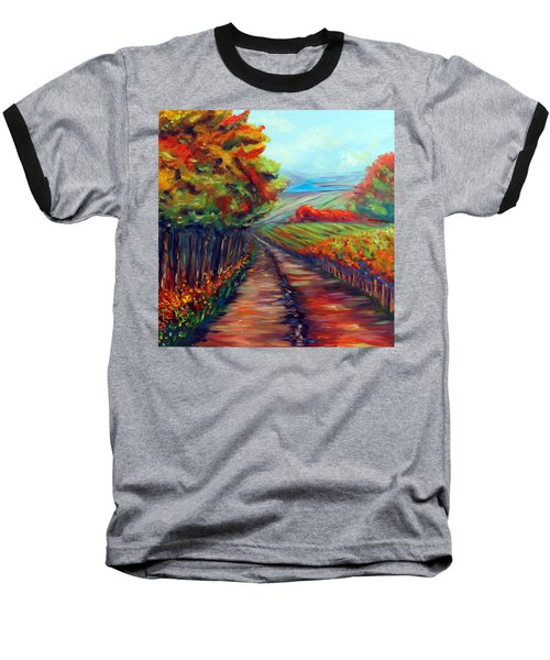 He Walks With Me Baseball T-Shirt
