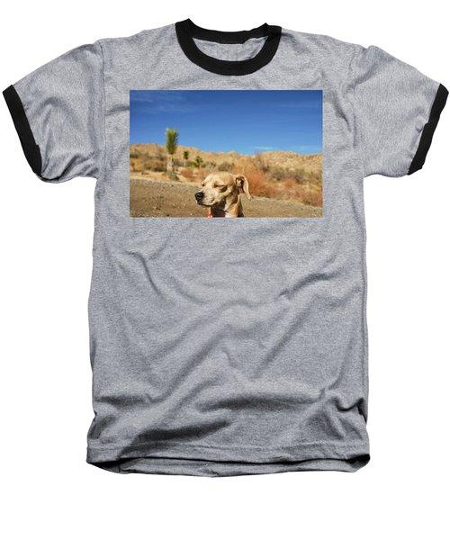 Baseball T-Shirt featuring the photograph Headache by Angela J Wright