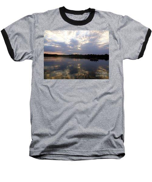 Heading Home On Lake Roosevelt In Outing Minnesota Baseball T-Shirt