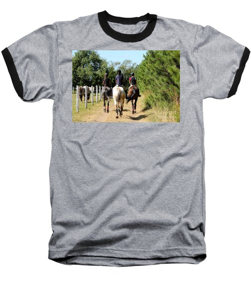 Heading To The Cross Country Course Baseball T-Shirt